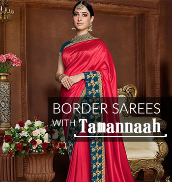 tamannaahs-festive-border-saree-look