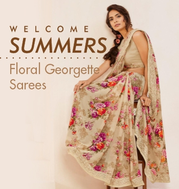 flaunt-with-floral-sarees-this-summer
