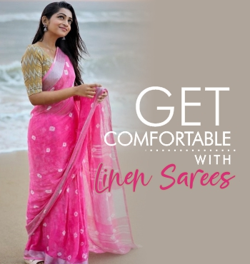 get-comfortable-with-linen-sarees
