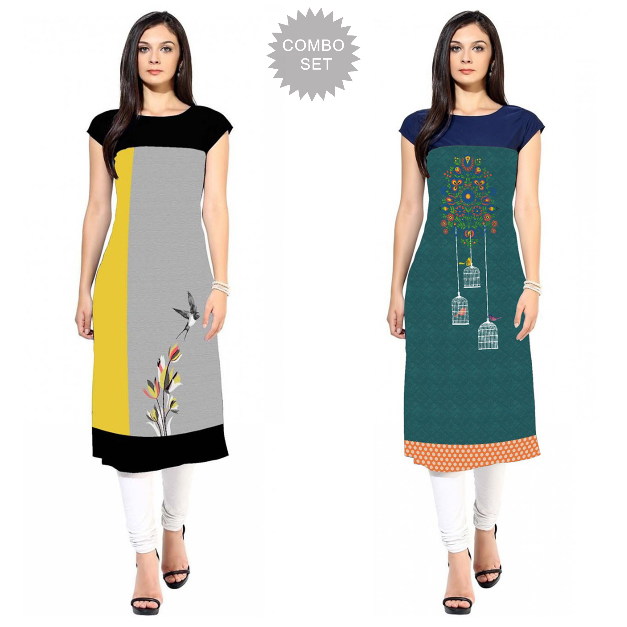sophisticated-casual-printed-crepe-kurti-pack-of-2