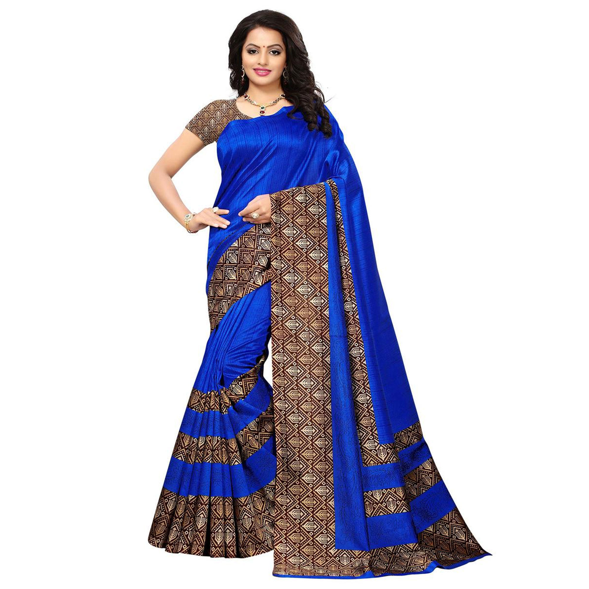 Pretty Casual Wear Printed Saree - Pack of 3