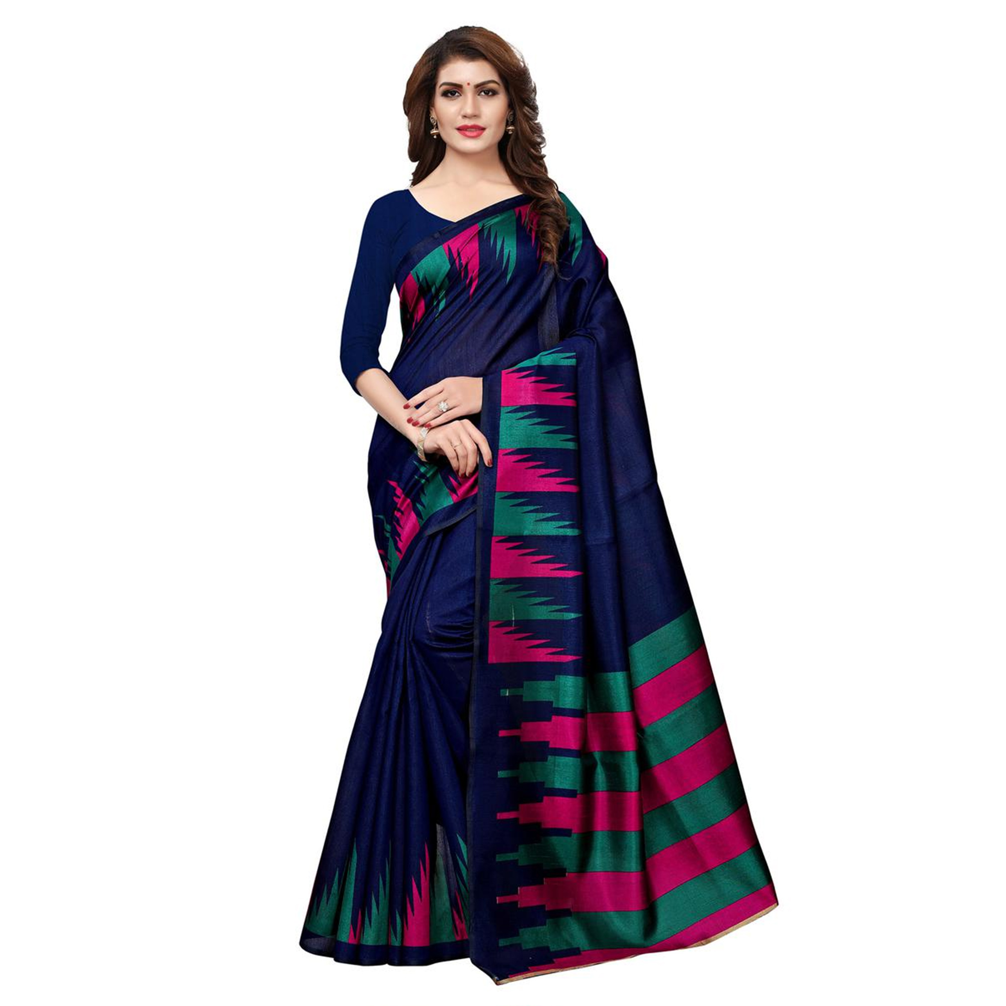 Appealing Casual Printed Art Silk Saree - Pack of 2
