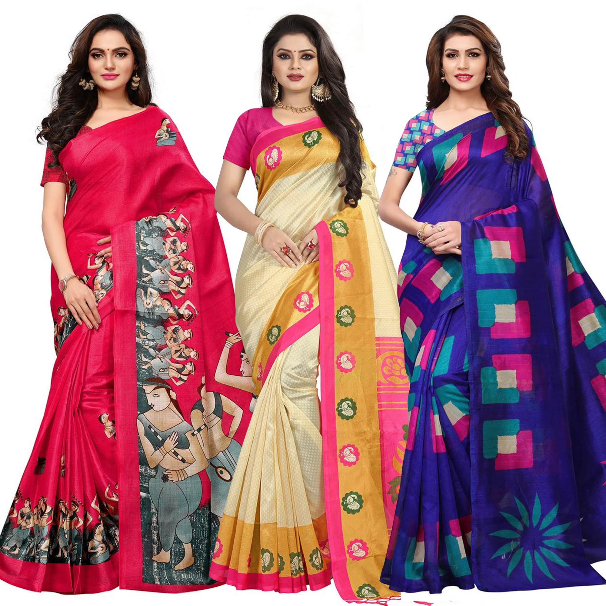 admiring-casual-printed-saree-pack-of-3