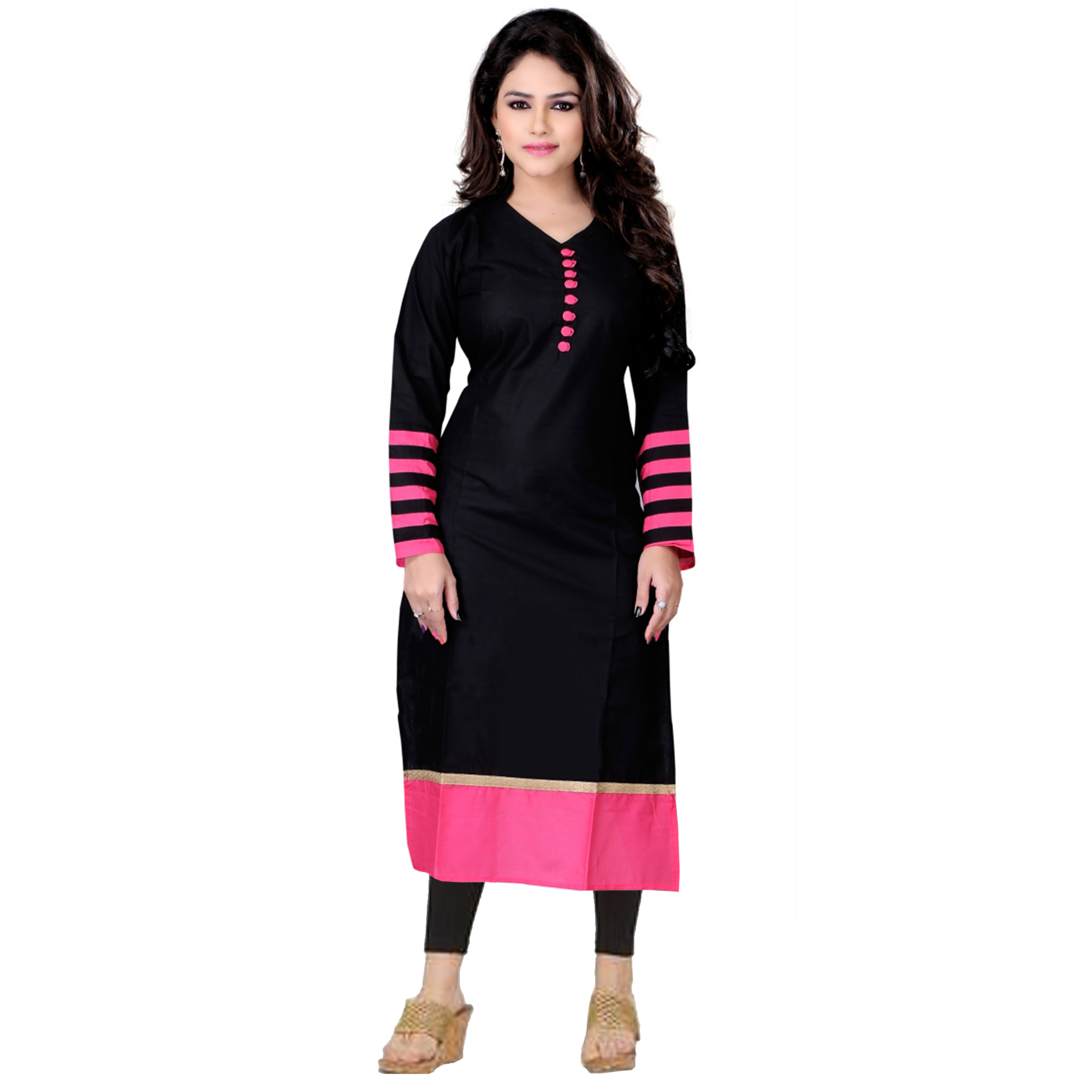 Magnetic Casual Printed Cotton-Crepe Kurti - Pack of 2