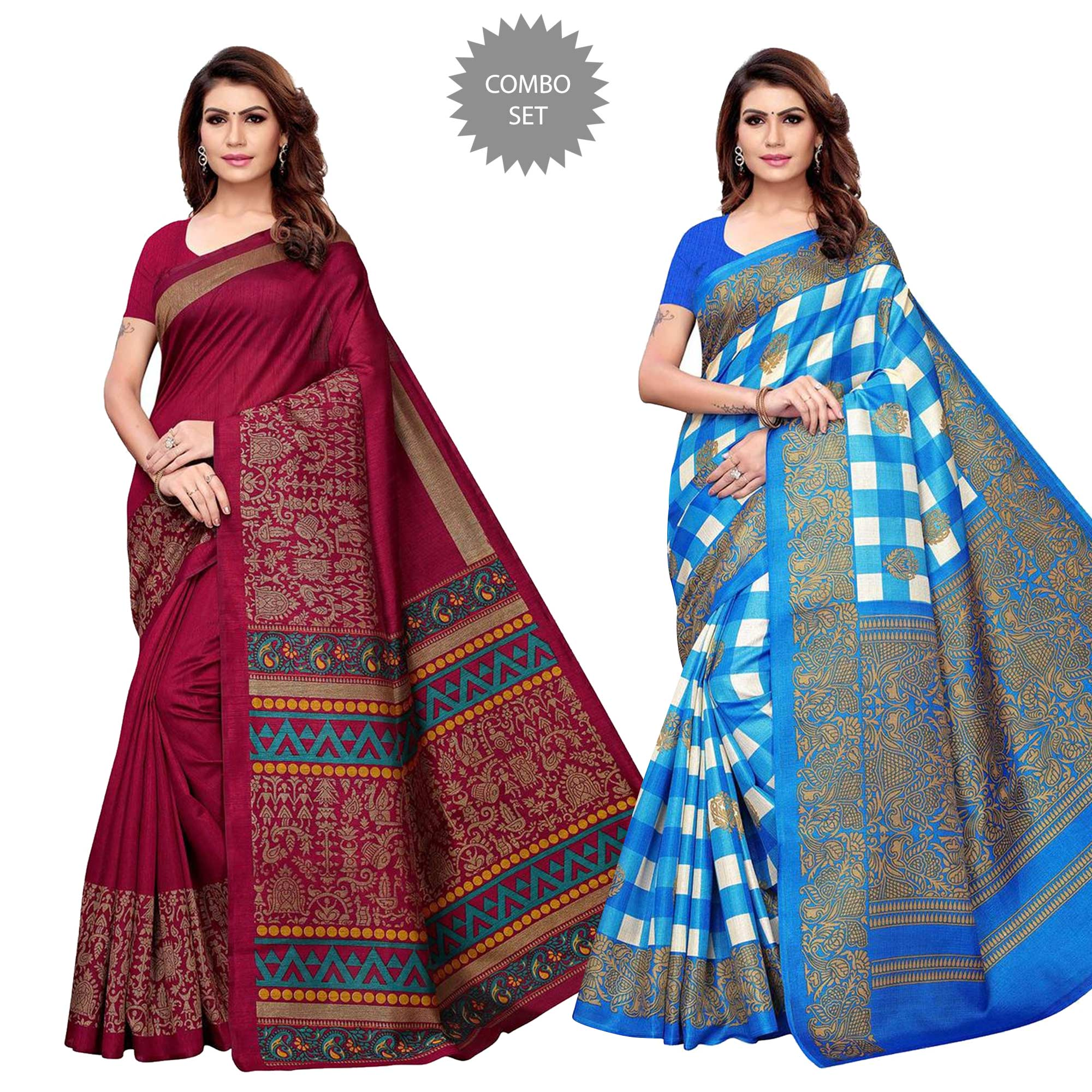 delightful-festive-wear-saree-pack-of-2