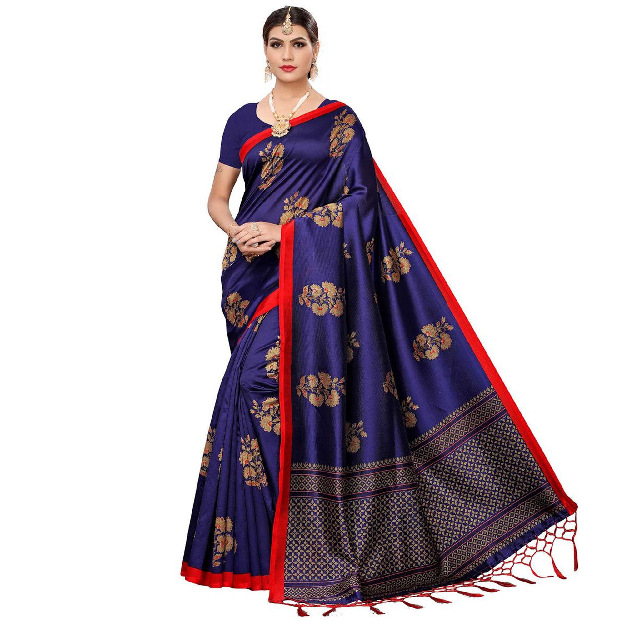Dazzling Festive Wear Art Silk Saree - Pack of 2