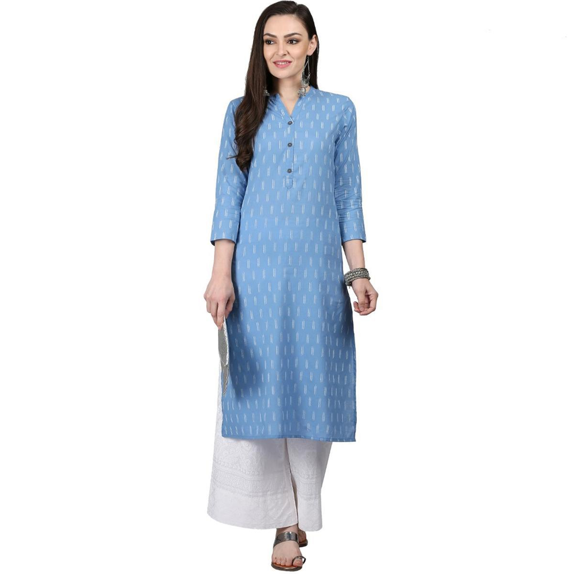 Captivating Casual Printed Cotton Kurti - Pack of 2