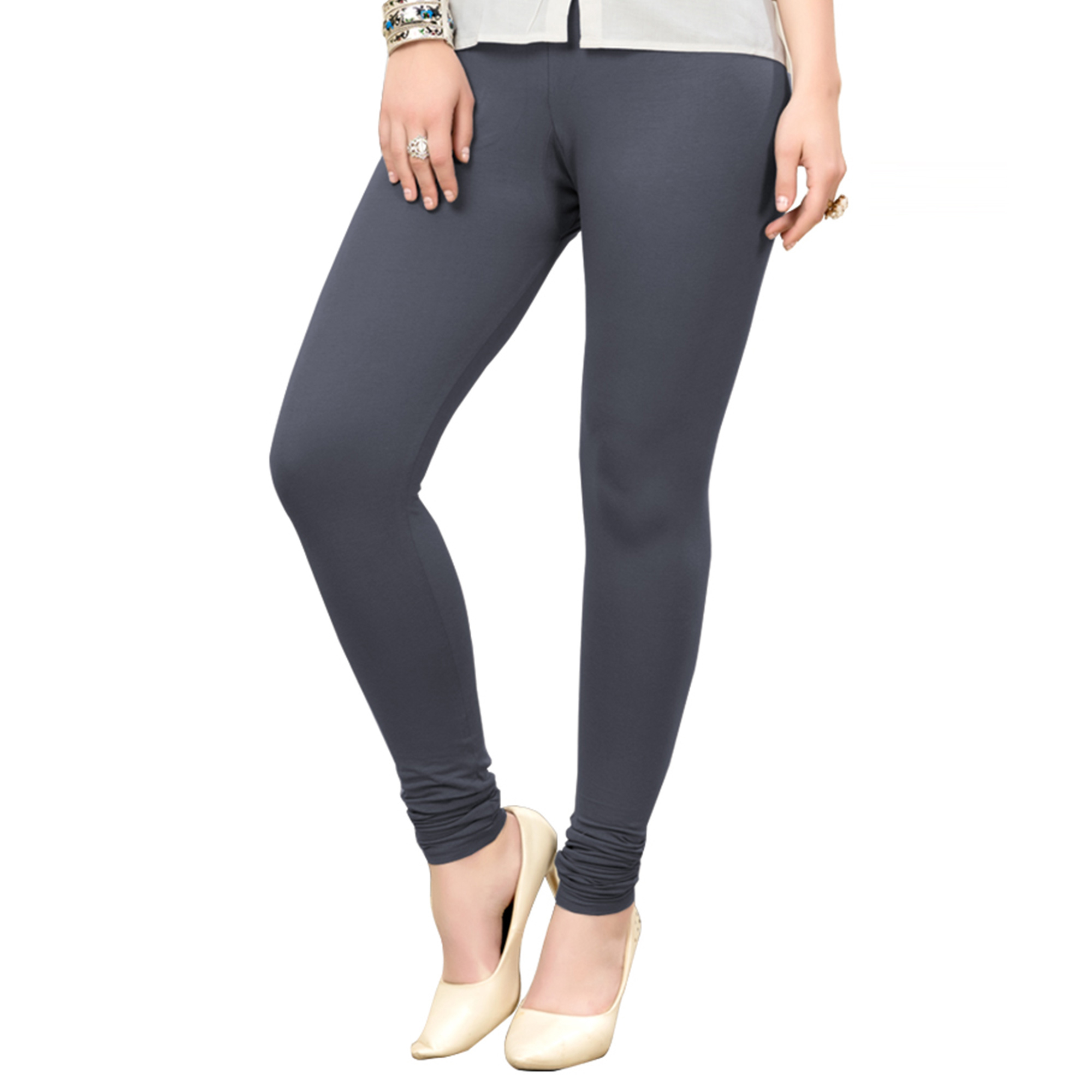 Gorgeous Casual Wear Ankle Length Cotton Leggings - Pack of 2