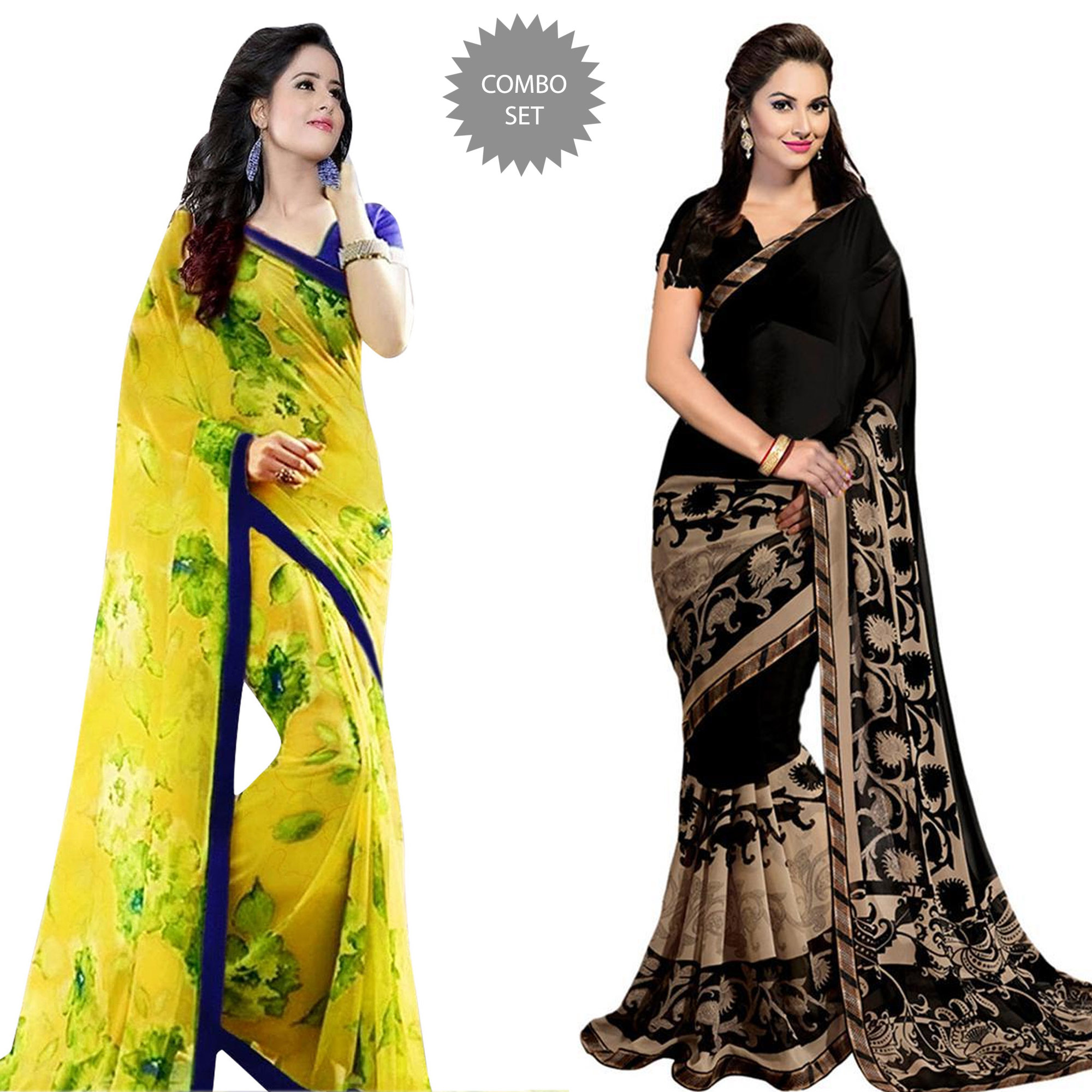pretty-casual-printed-georgette-saree-pack-of-2-1806