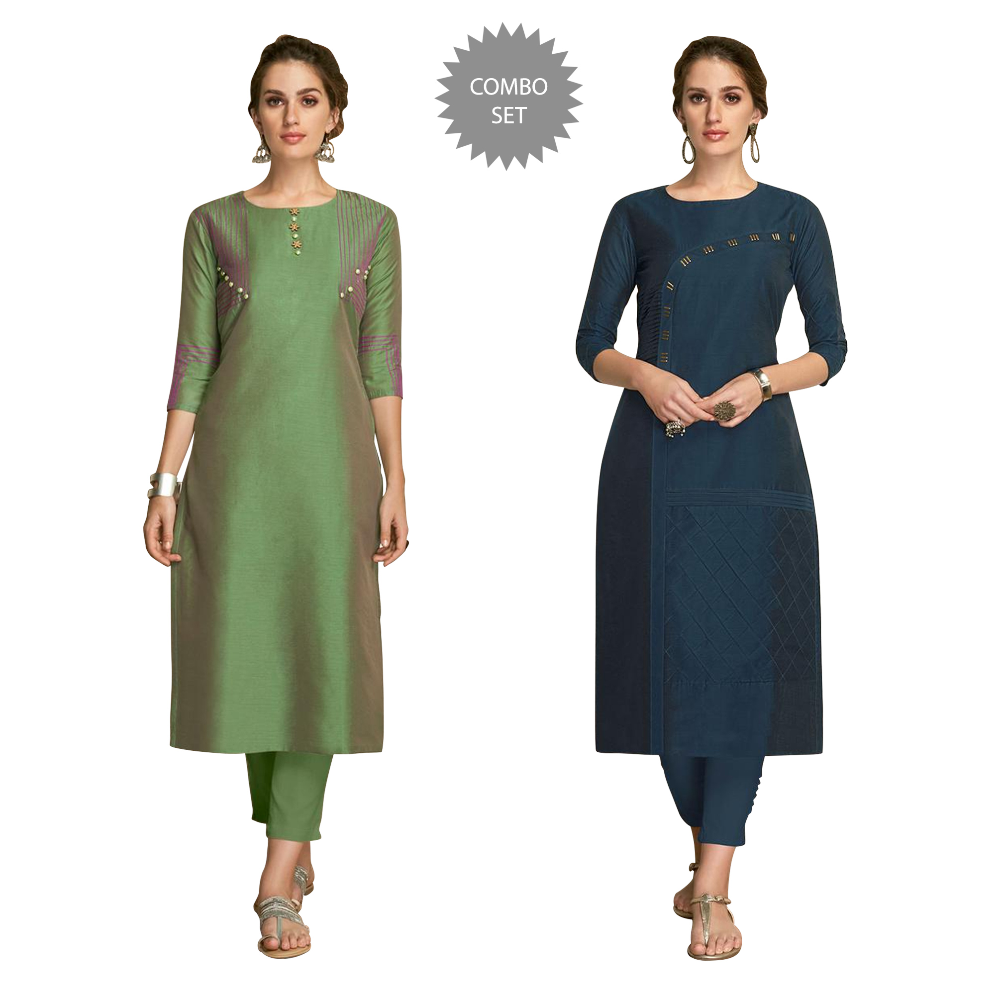 staring-partywear-embroidered-viscose-kurti-pack-of-2