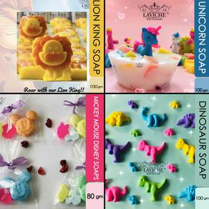 Laviche - Animal Shaped Soaps - Pack Of 4
