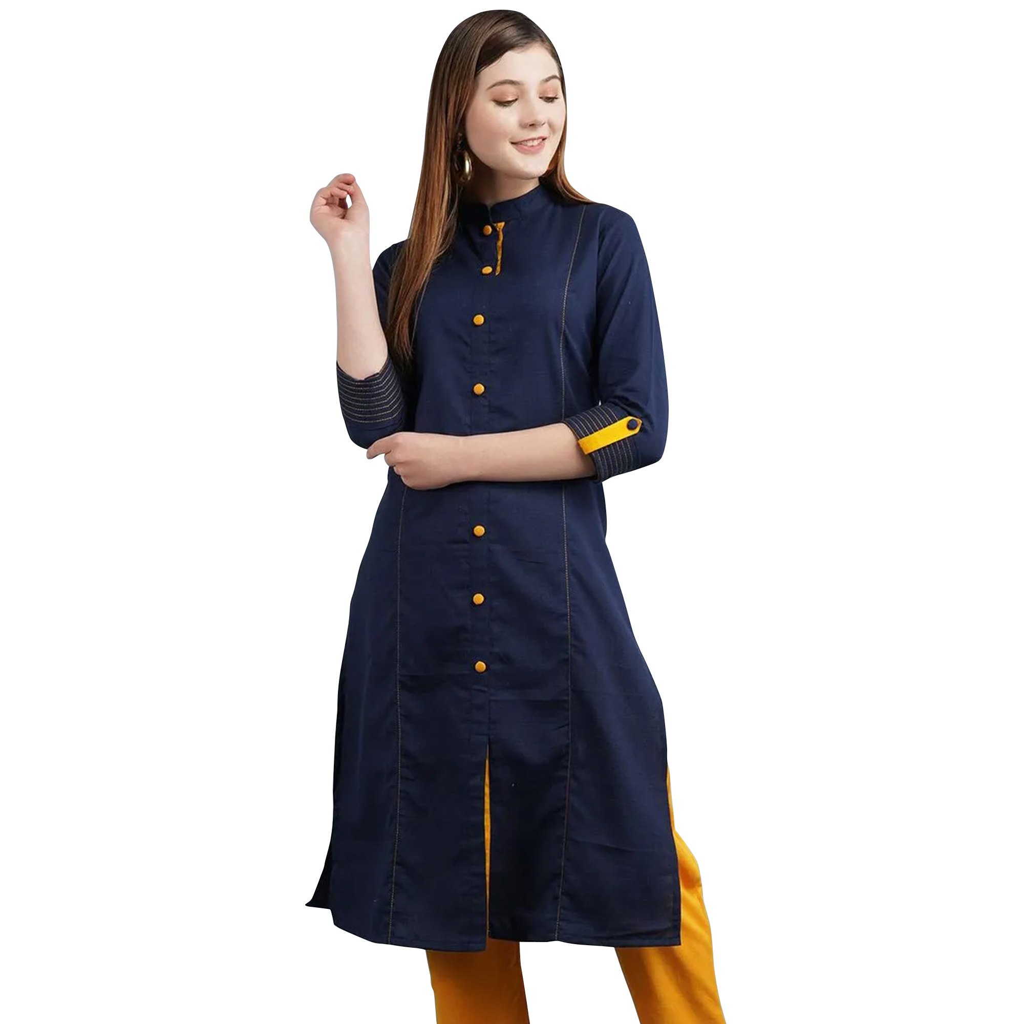Radiant Casual Wear Cotton Kurti - Pack of 2