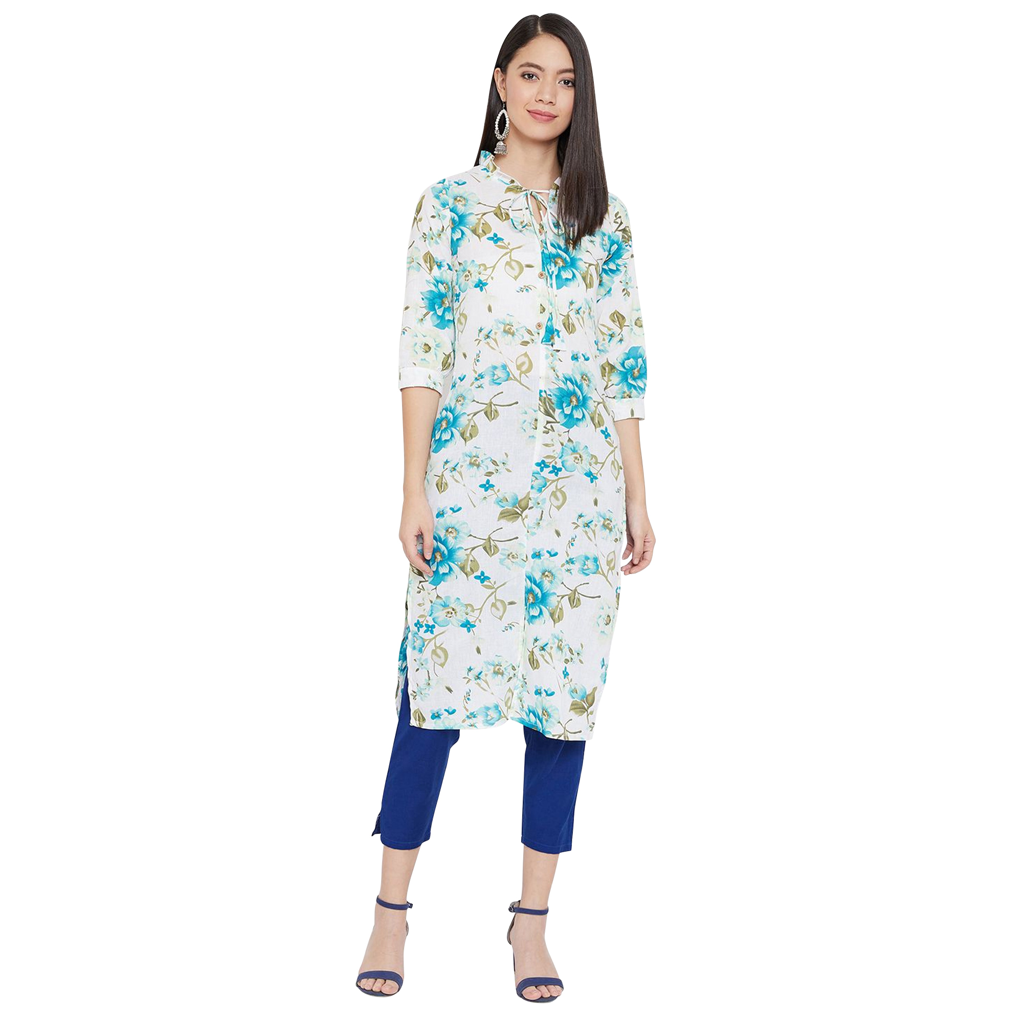 Glorious Casual Printed Pure Cotton Kurti - Pack of 2