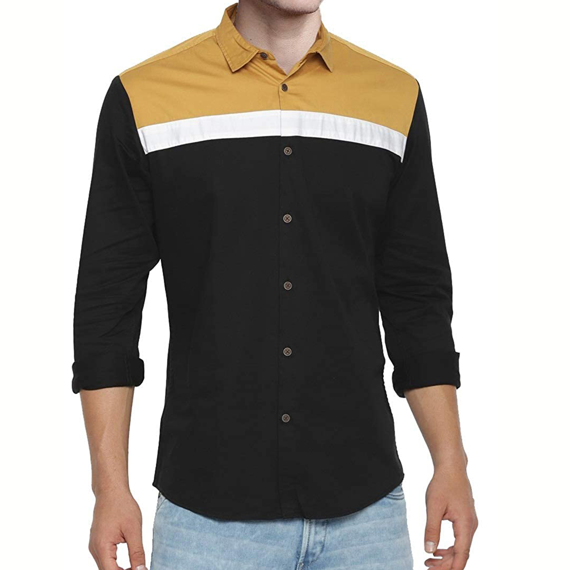 Delightful Casual Wear Pure Cotton Shirts Pack Of 2