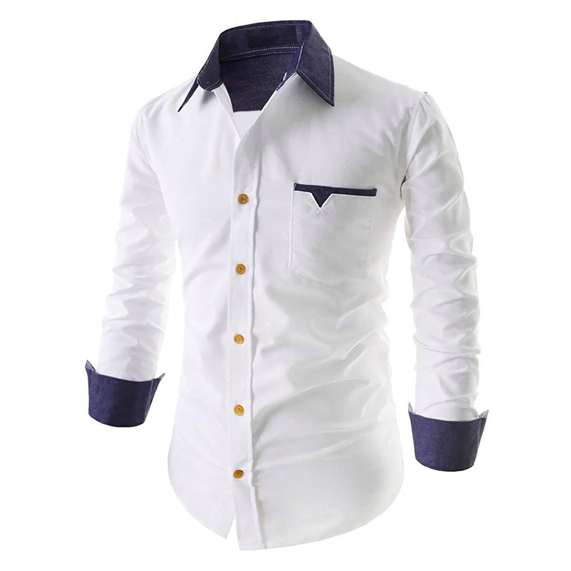 Ethnic Casual Wear Pure Cotton Shirts Pack Of 2