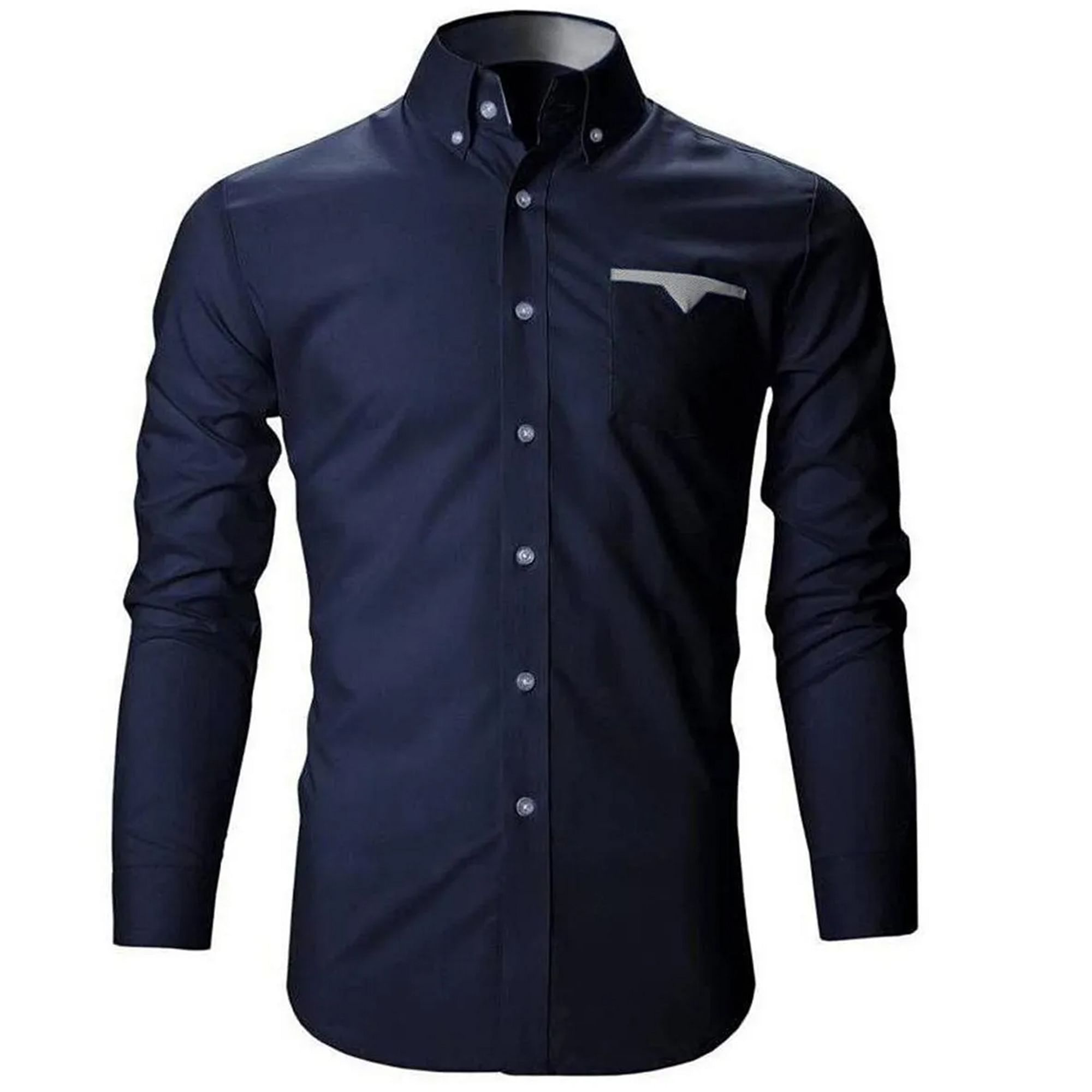 Trendy Casual Wear Pure Cotton Shirts Pack Of 3