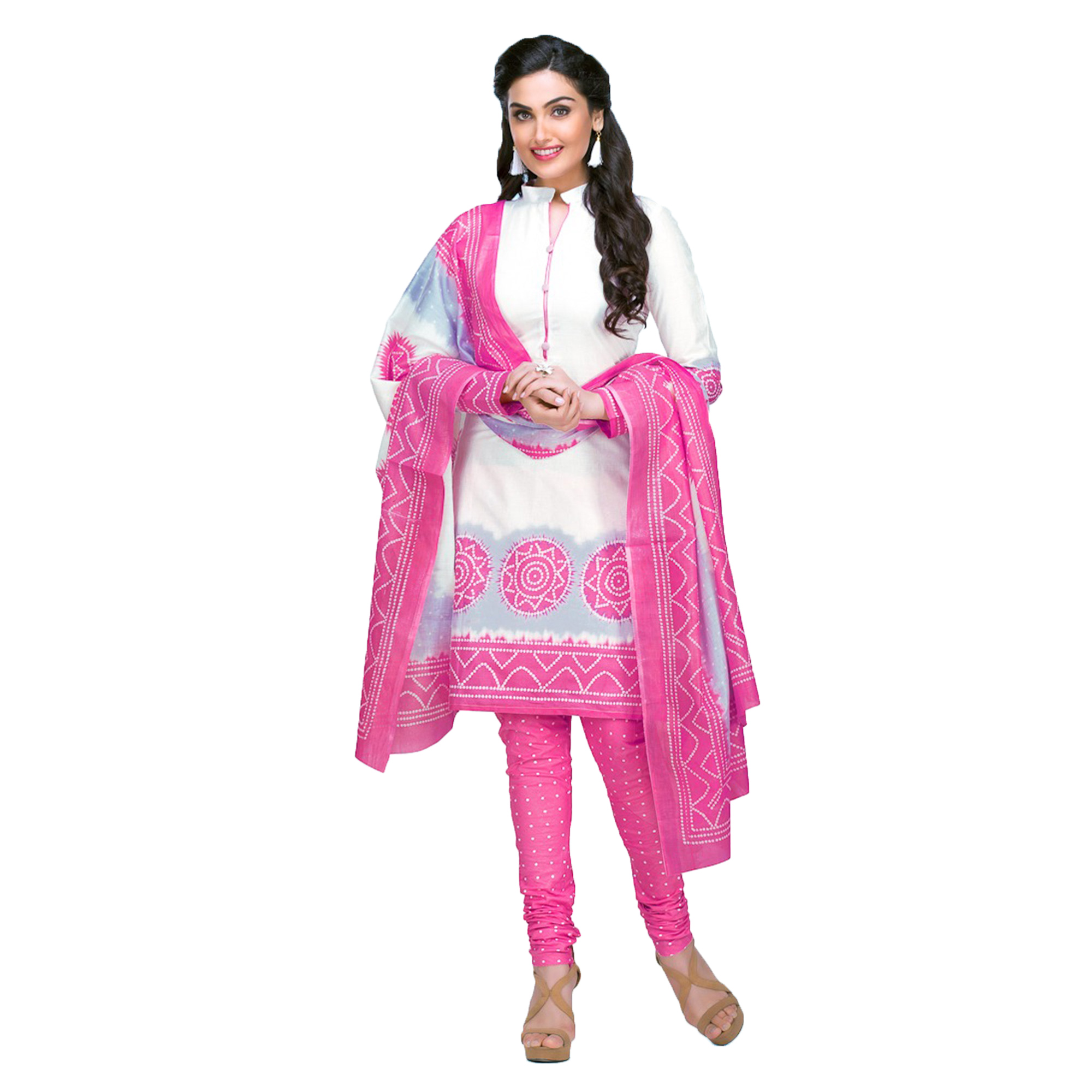 08d86d8db9883 Buy Dashing Casual Printed Jetpur Cotton Dress Materials - Pack of 2 for womens  online India