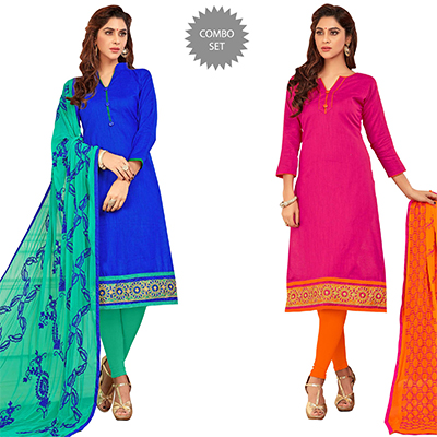 Absorbing Casual Wear Cotton Suit - Pack of 2