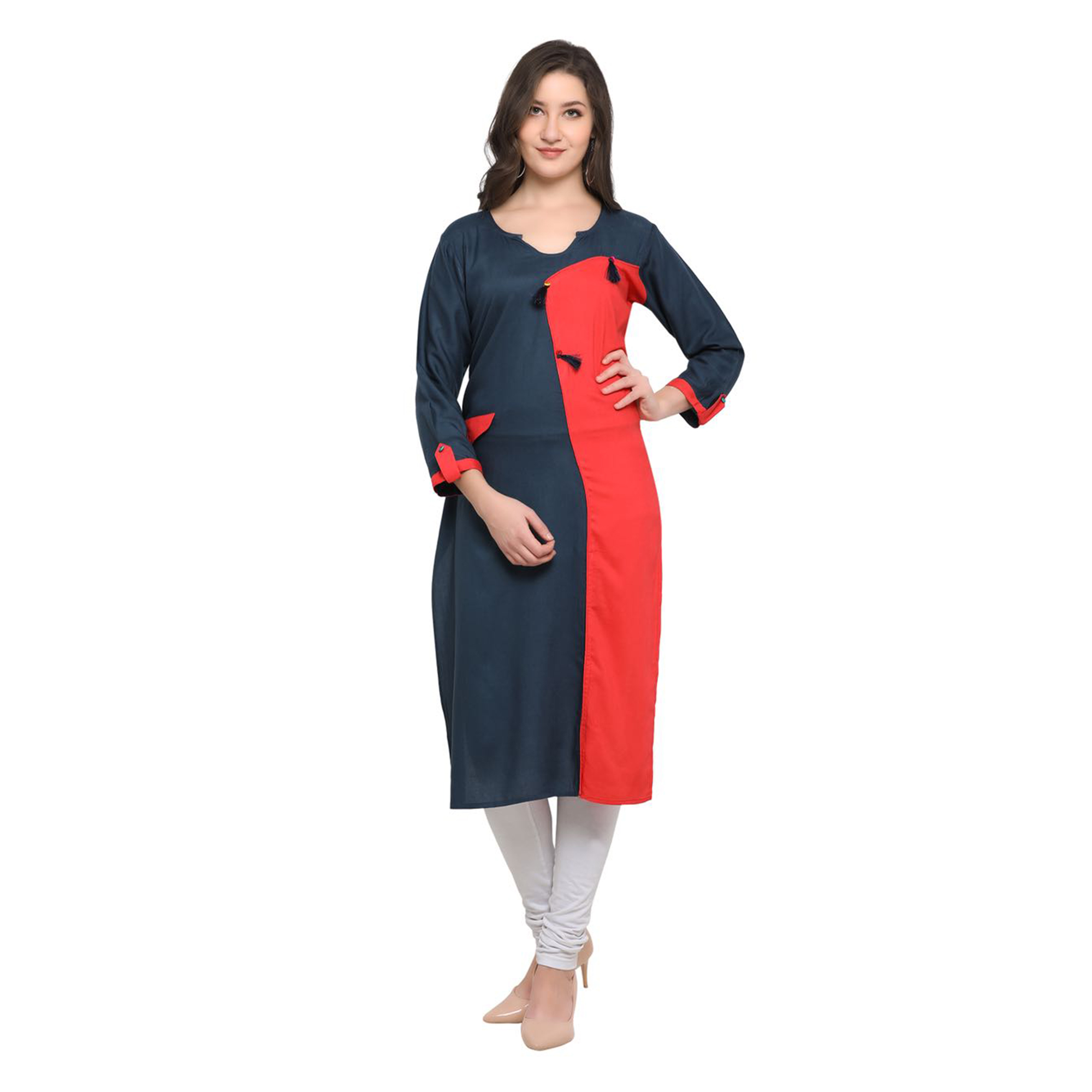 Desiring Casual Wear Pure Rayon Kurti - Pack of 2