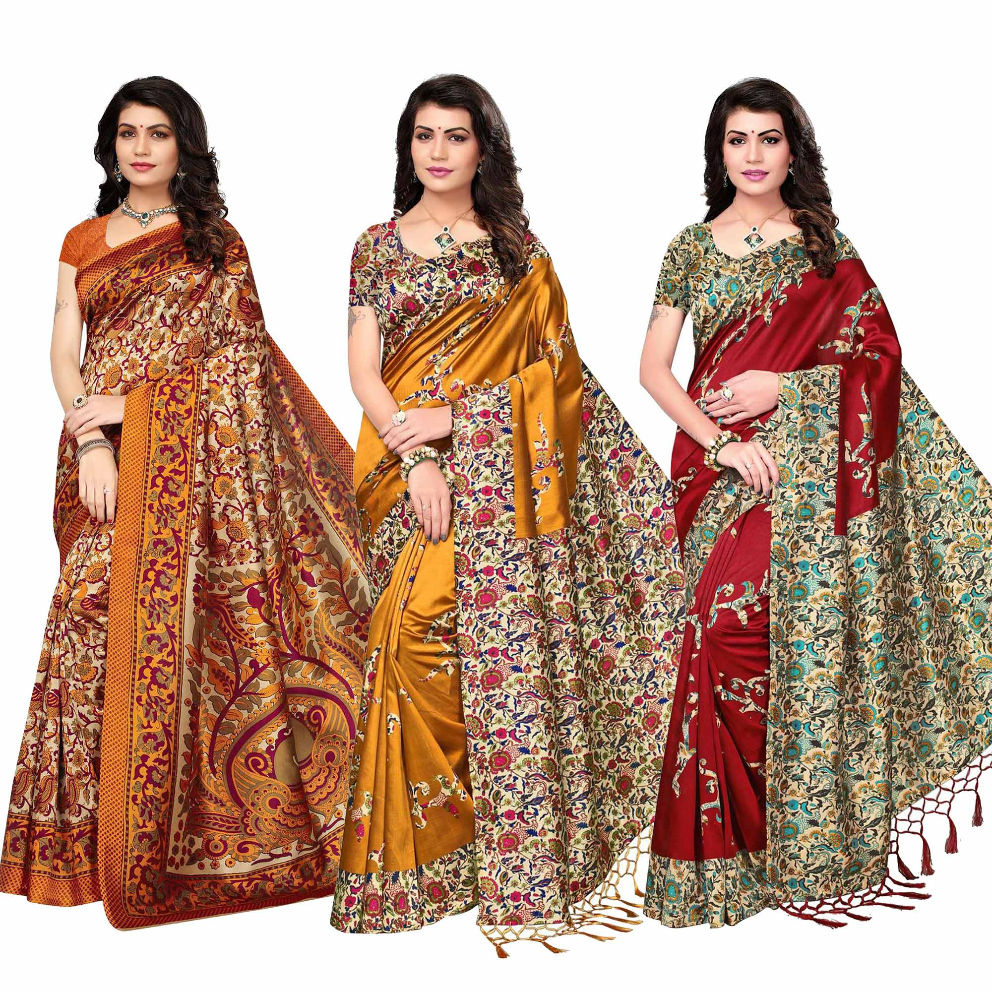 classy-festive-wear-printed-bhagalpuri-art-silk-saree-pack-of-3
