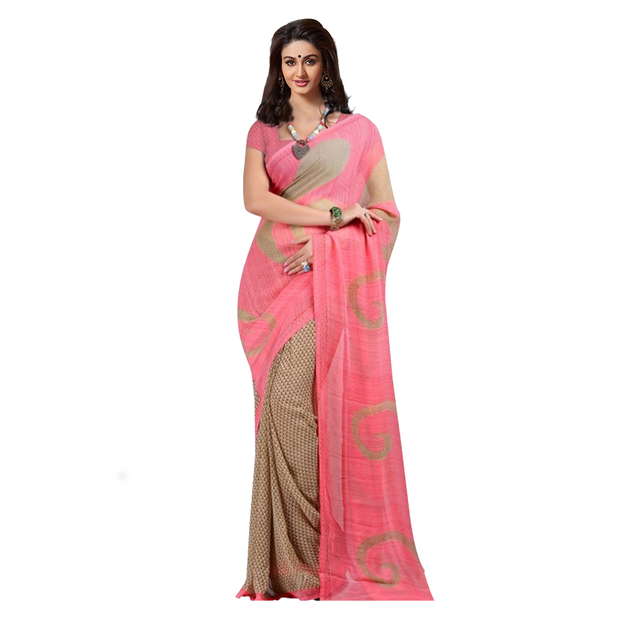 Pack of 3 Georgette Printed Sarees
