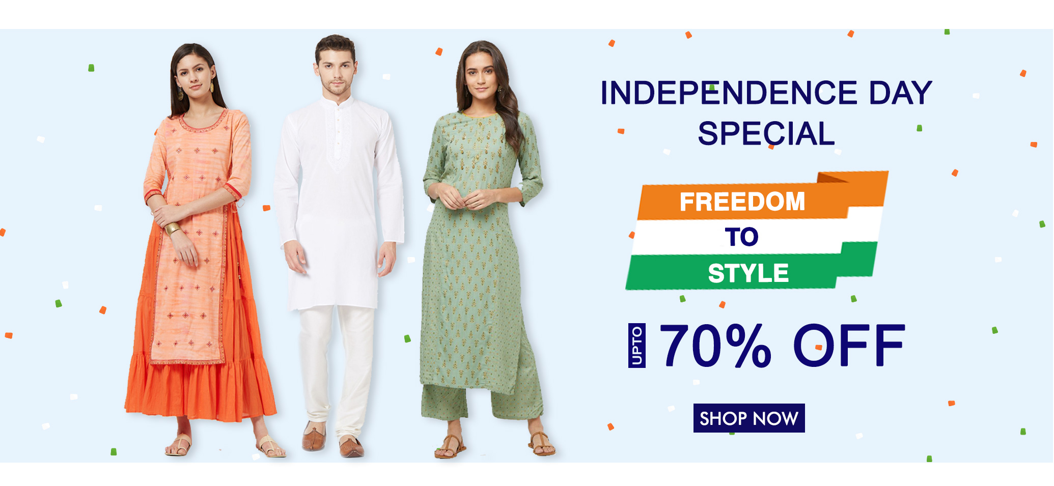 Peachmode Independence Day Fashion Sale
