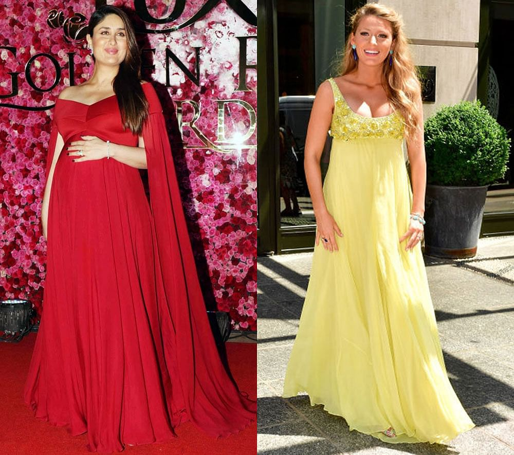deb48cb683f Kareena Kapoor Khan or Blake Lively.. Here s how our celebs carried their  maternity looks!