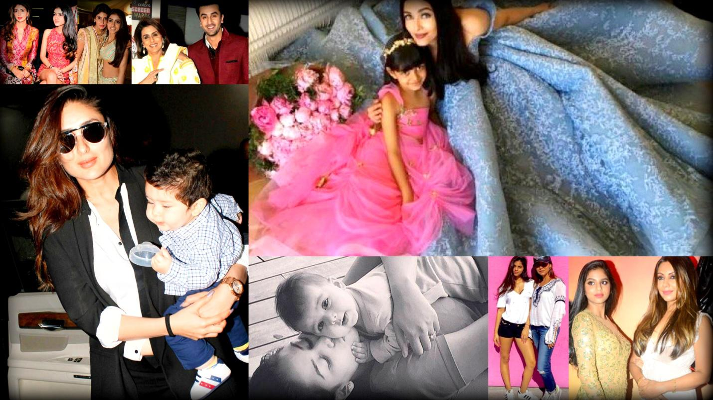 TOP 10 MOST HAPPENING MOTHER-CHILD DUOS OF BOLLYWOOD