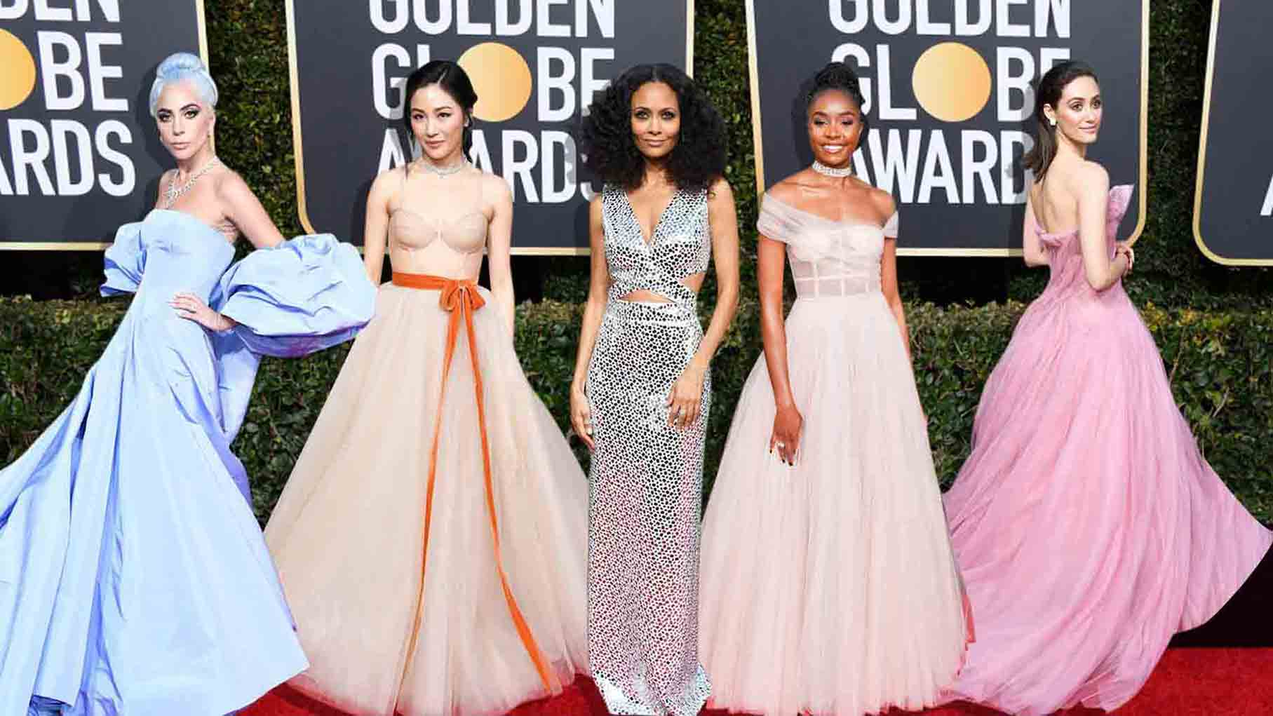 THE GLAMOROUS GOLDEN GLOBES 2019