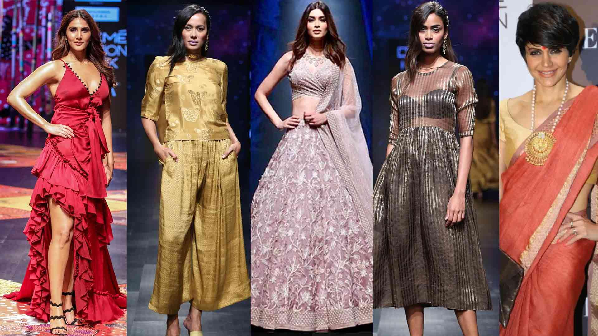 REIGNING TRENDS AT THE LAKME FASHION WEEK 2019