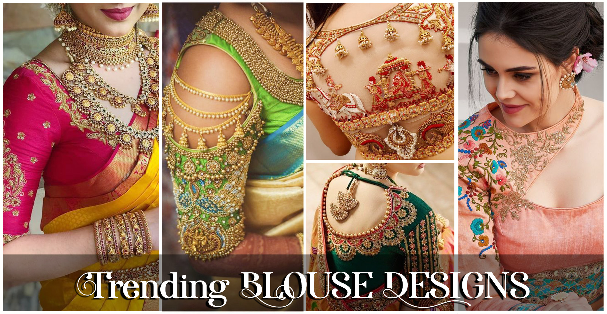BLOUSE DESIGNS TO PAIR WITH SILK SAREES