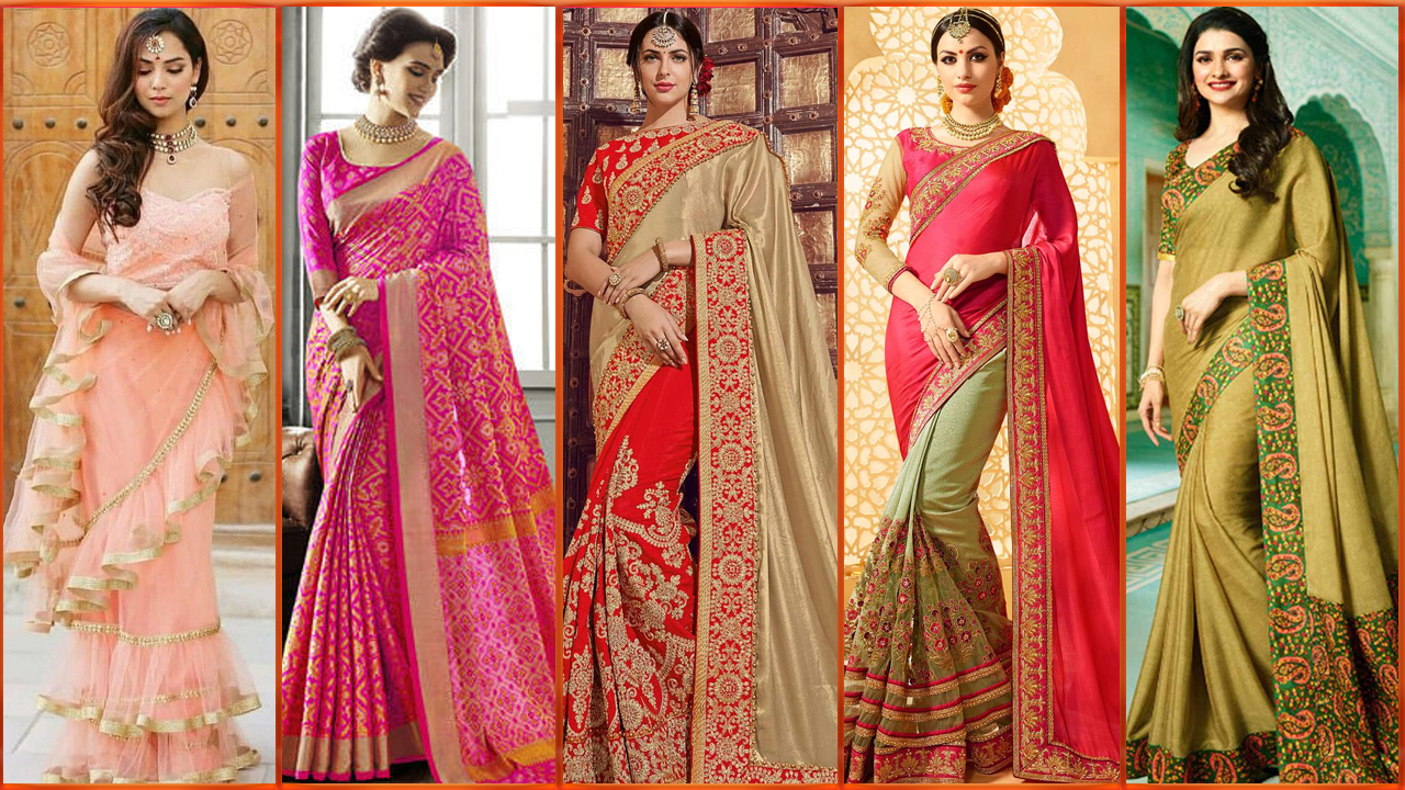 TRENDING SAREE DESIGNS