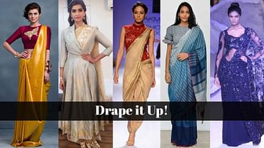 10 Latest Saree Draping Styles You Must Know