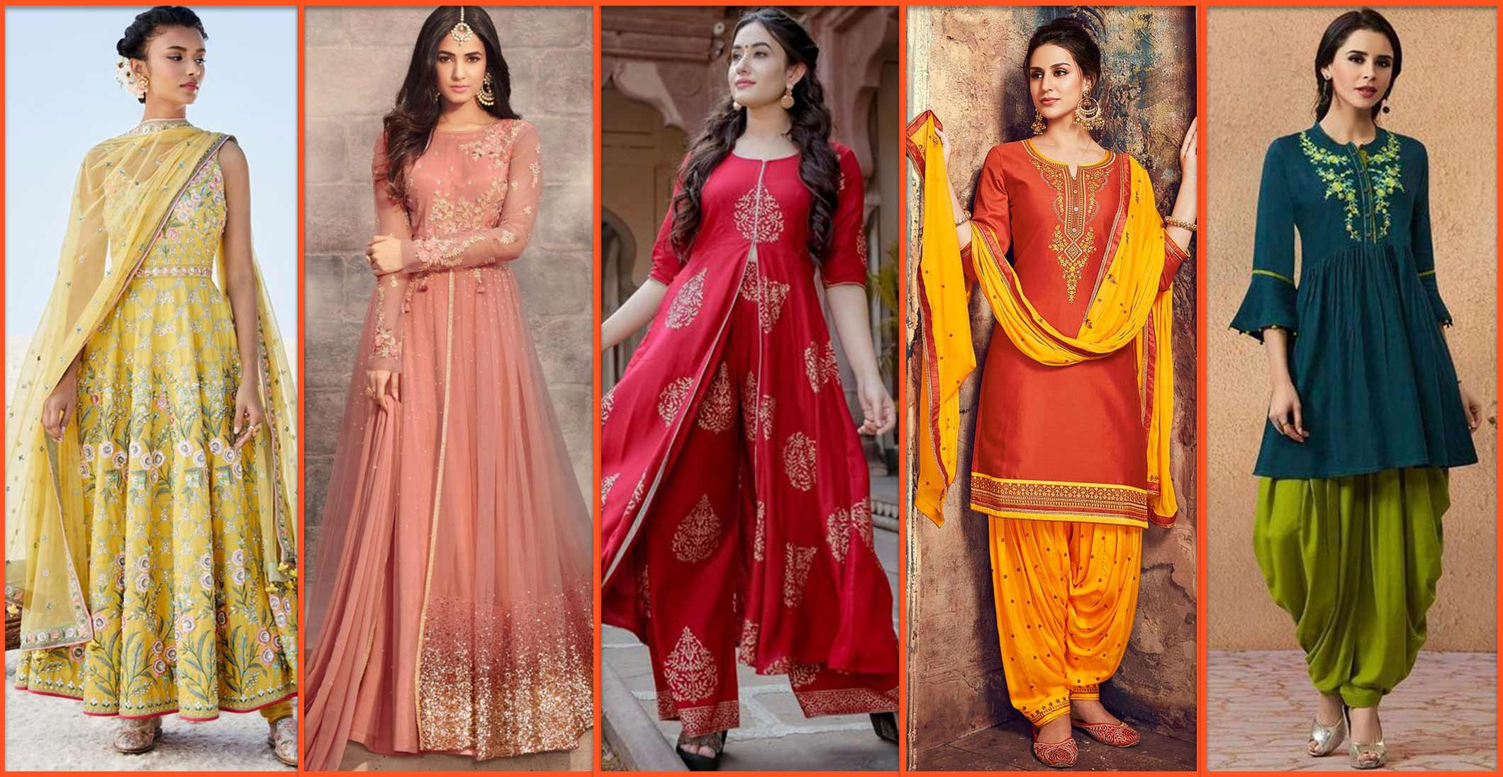 Festive Salwar Suits For Every Body Type