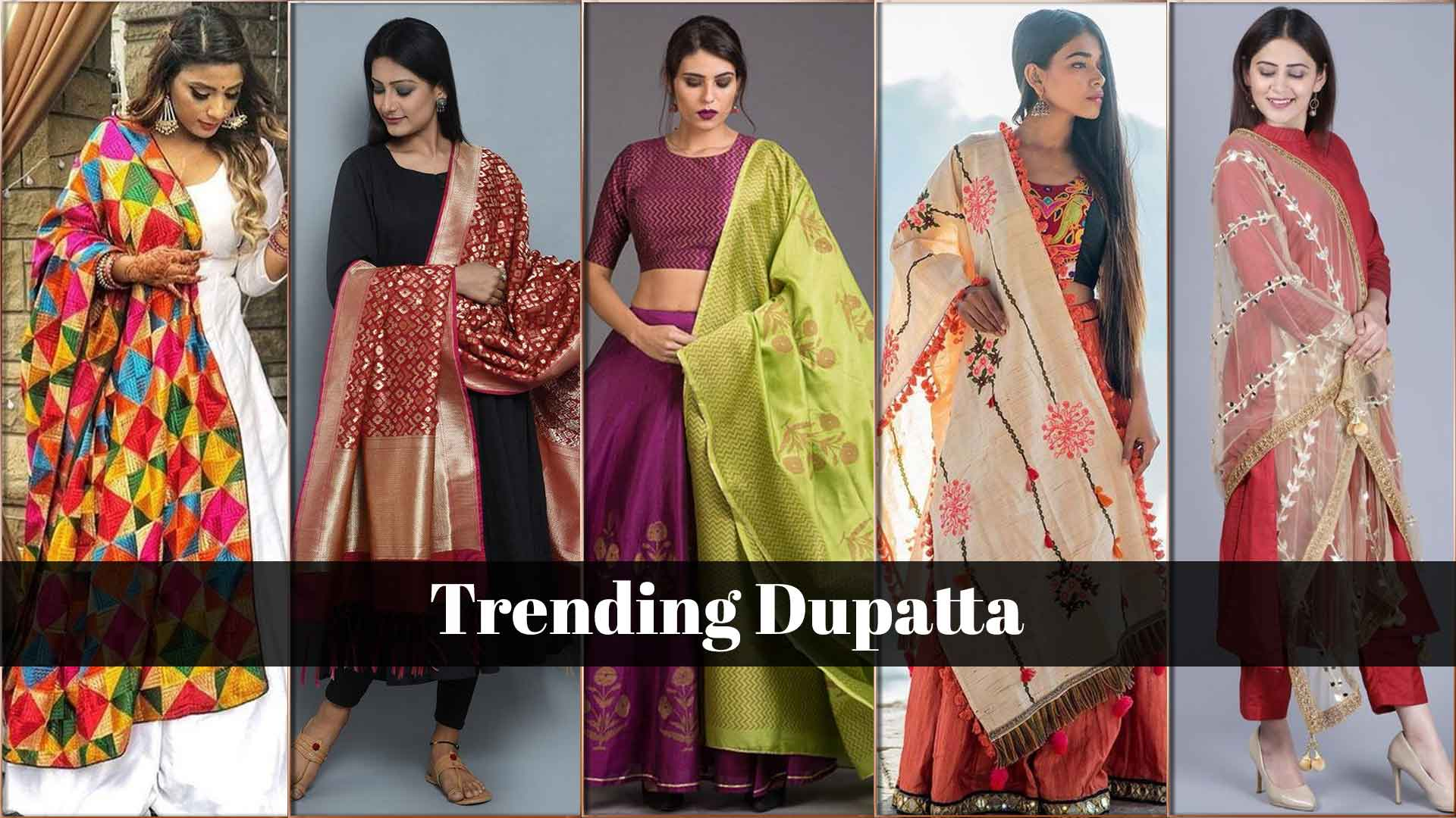 Dupattas You Must Stock In Your Wardrobe