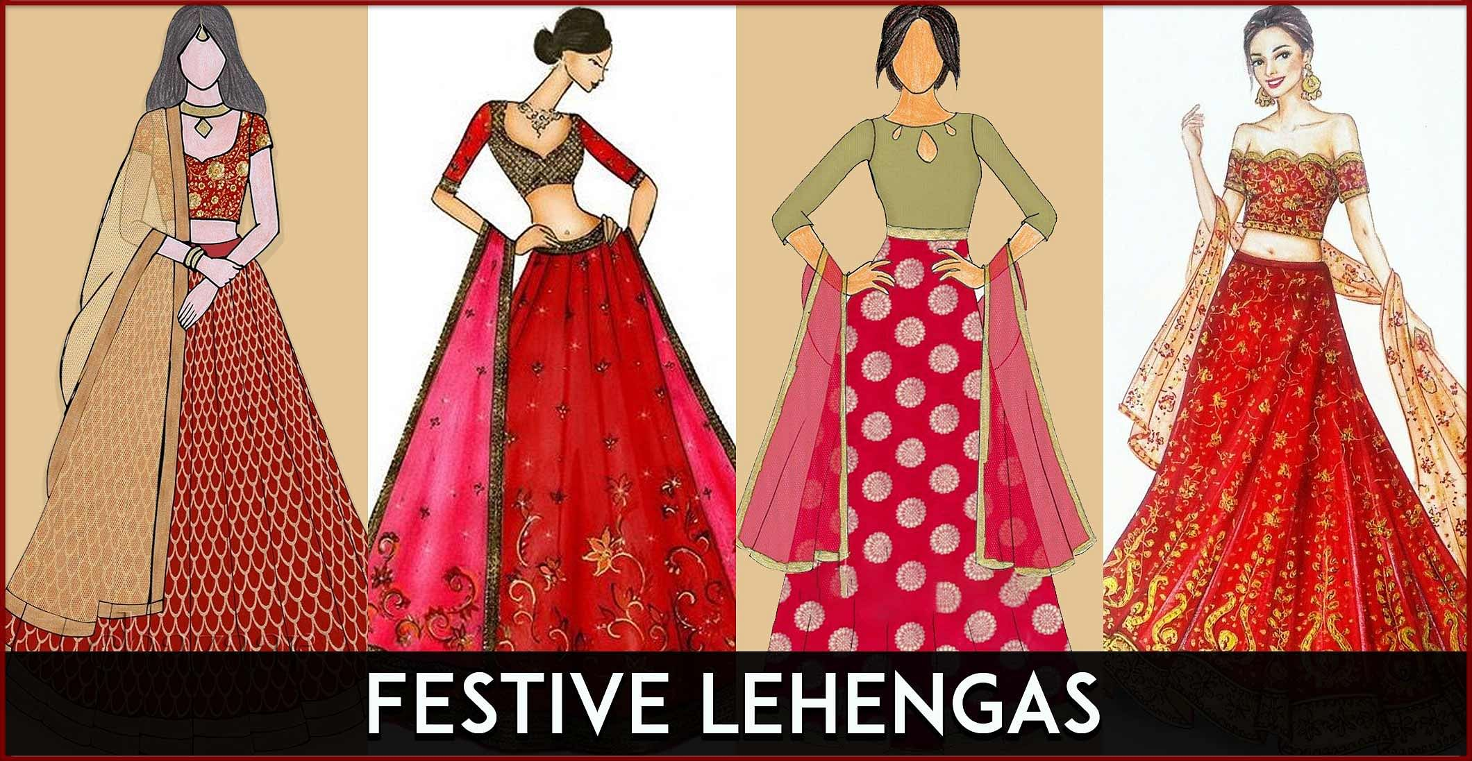 Trending Lehengas for the Festive Season