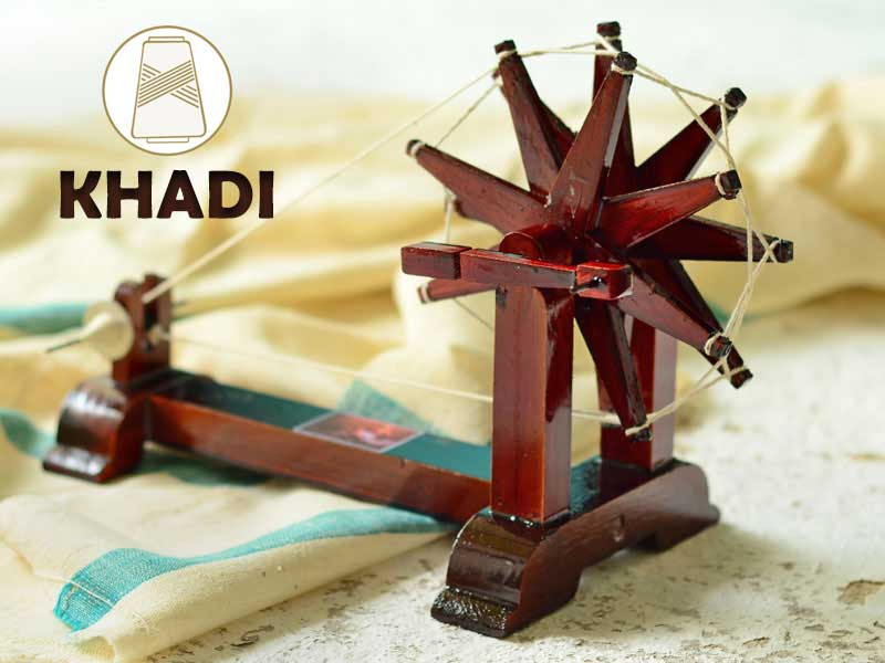 KHADI- THE HERITAGE TEXTILE OF INDIA