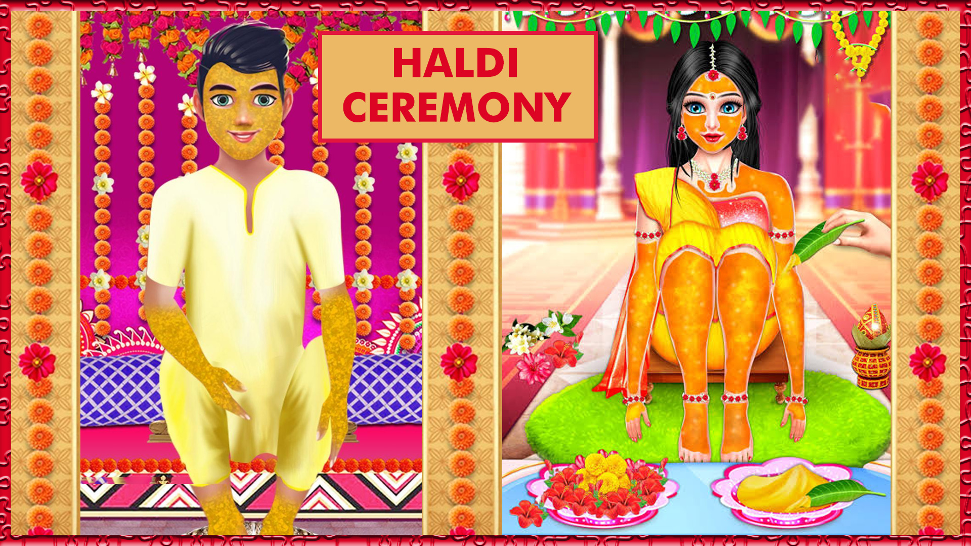Buy Best Dresses for Haldi Function Online