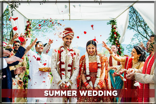 ALL ABOUT THE INDIAN SUMMER WEDDINGS