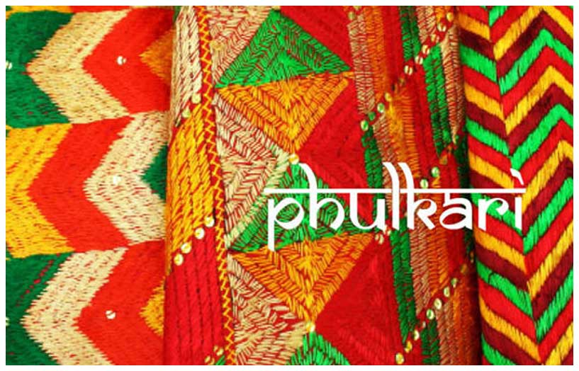 Phulkari Work
