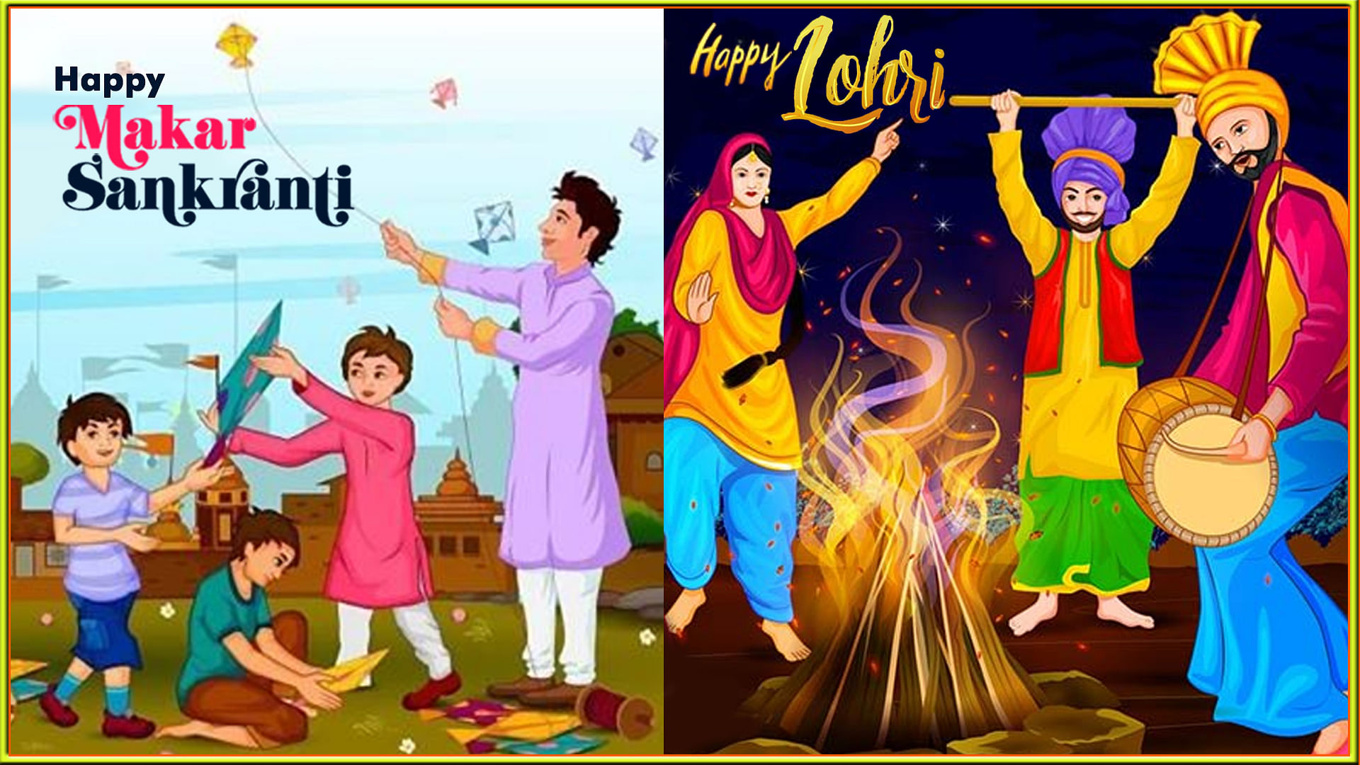Lohri and Makar Sankranti 2020: Trending Tips To Pull Off An Ethnic Look!