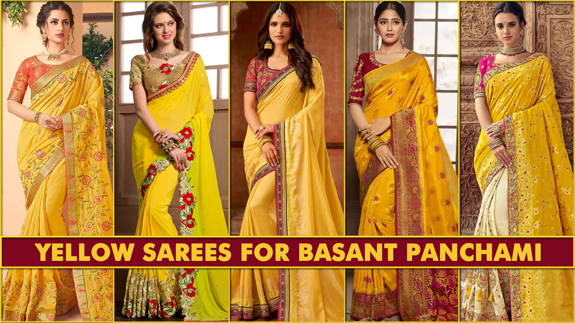 IMPORTANCE OF WEARING YELLOW SAREE ON SARASWATI PUJA