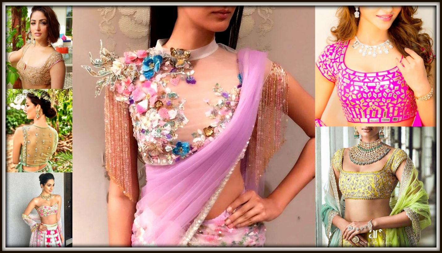 LATEST BLOUSE DESIGNS YOU MUST TRY THIS SEASON