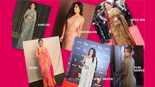 HOW TO CHOOSE THE RIGHT SAREE FABRIC FOR YOUR BODY TYPE