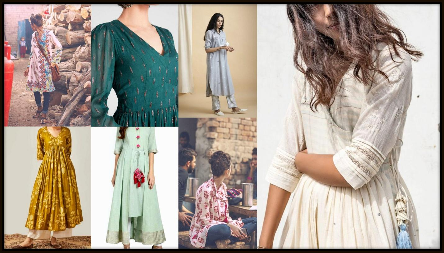 10 FABULOUS SUMMERY COTTON KURTIS UNDER 899