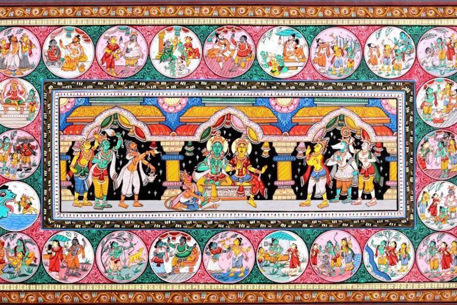 THE ENCHANTING PATTACHITRA PAINTINGS