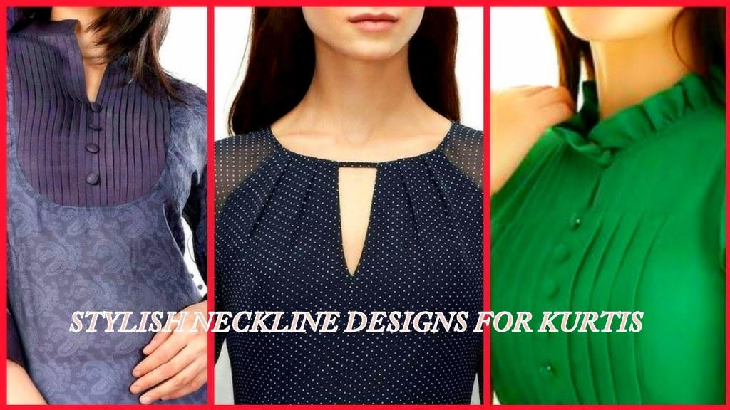 13 MUST HAVE STYLISH KURTI NECK DESIGNS FOR THE MODERN WOMAN