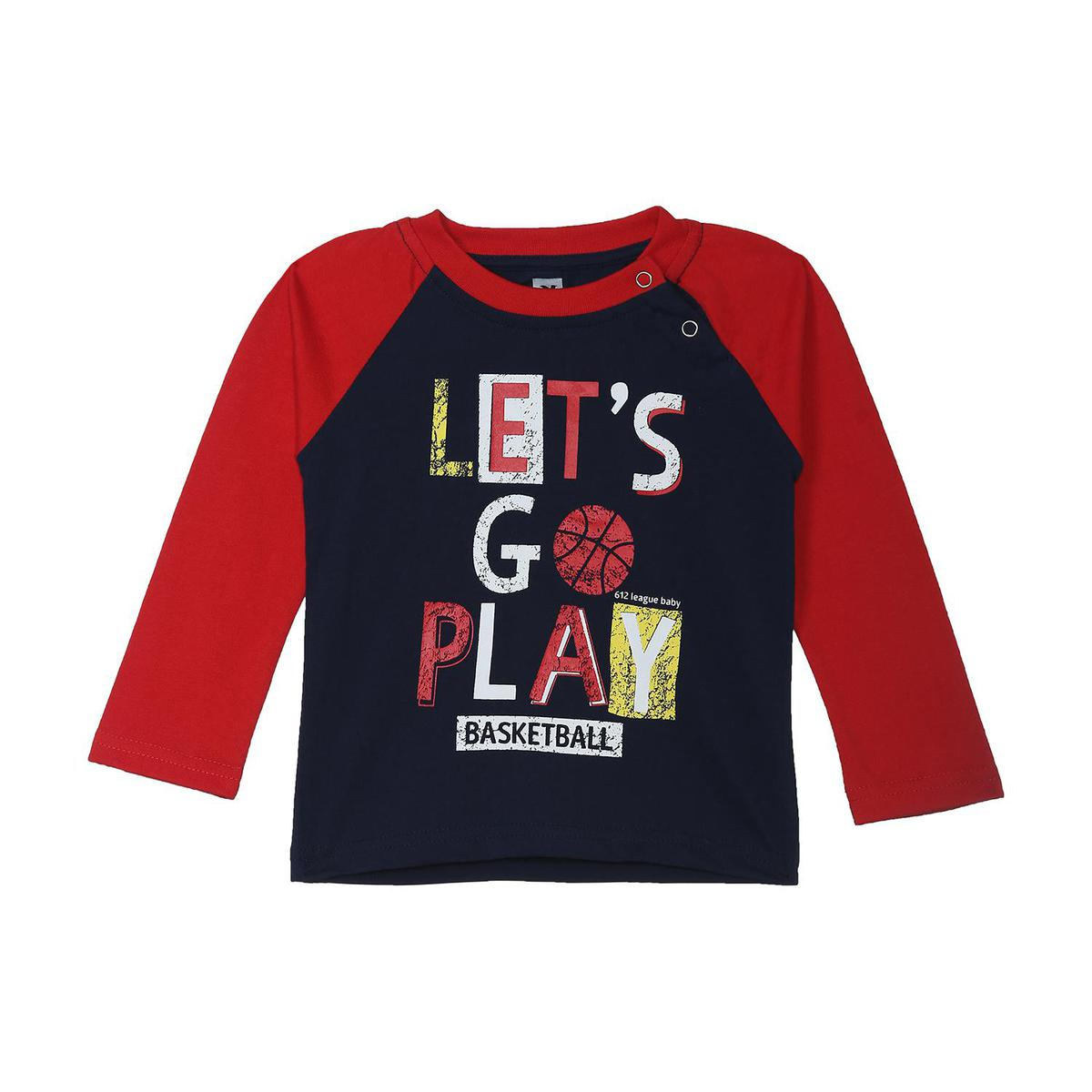 612 League - Boy's Navy Colored Knits Graphic T-shirt
