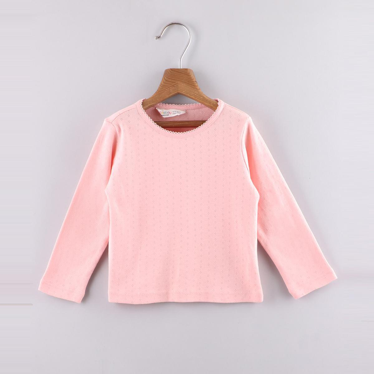 Beebay Dusty (Pink) Pointelle T-Shirt (Pink)