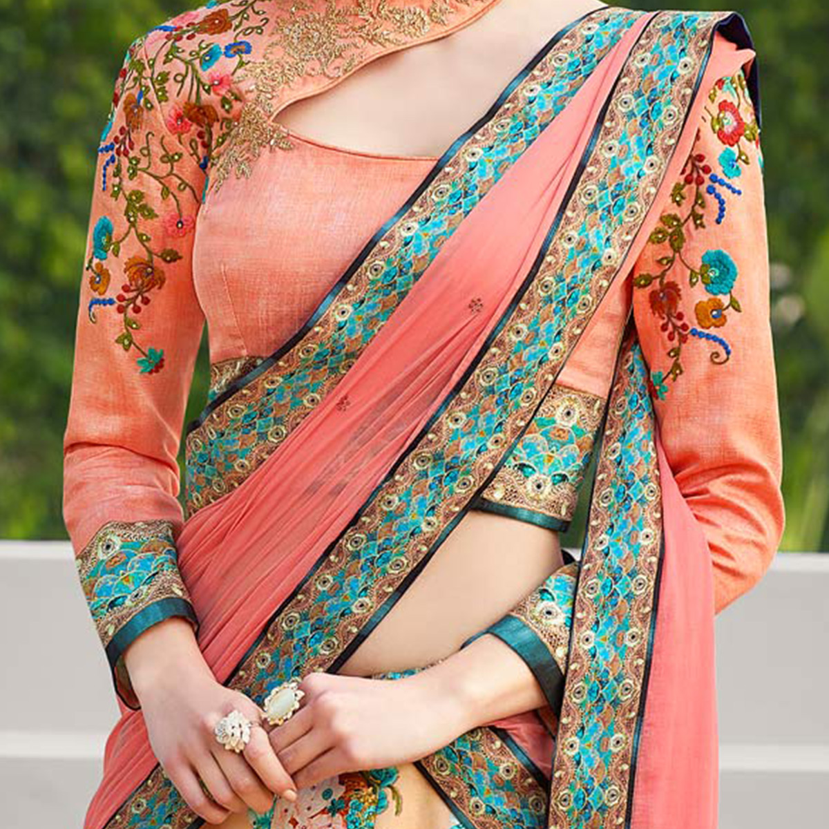 Girlish Pink Colored Designer Partywear Embroidered Silk Lehenga Choli
